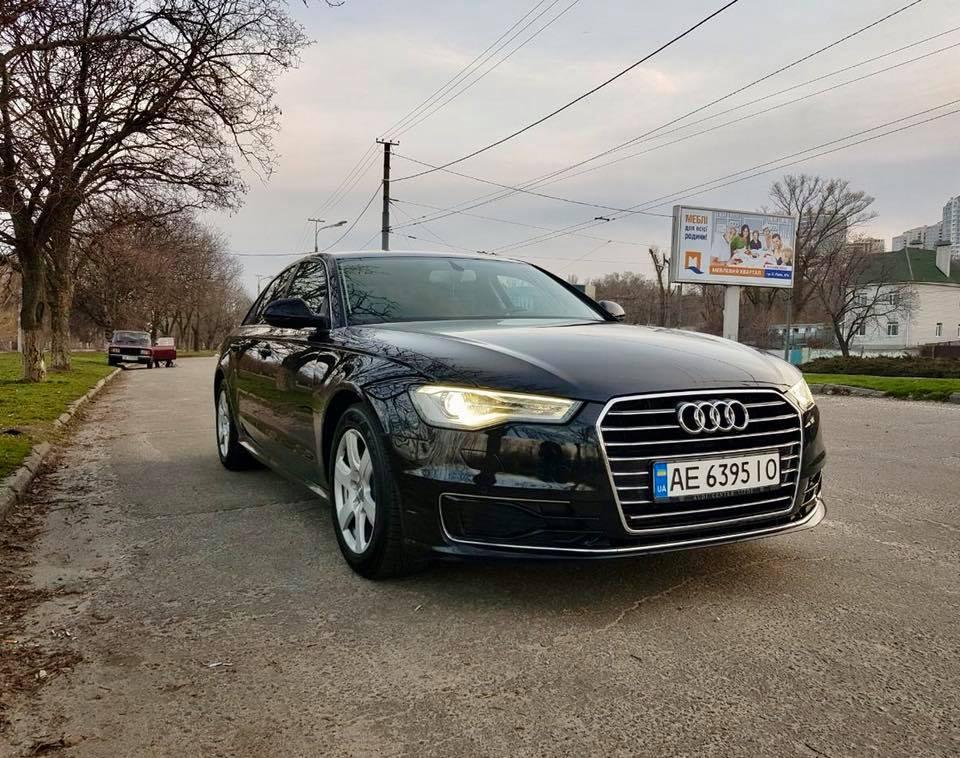 Audi A6 с остатком гарантии