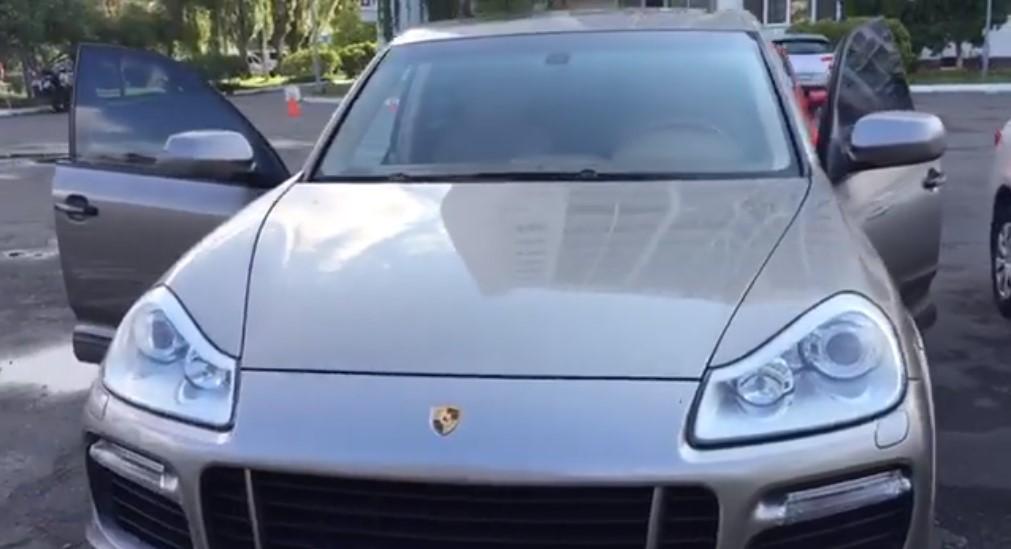 Осмотр Porsche Cayenne GTS