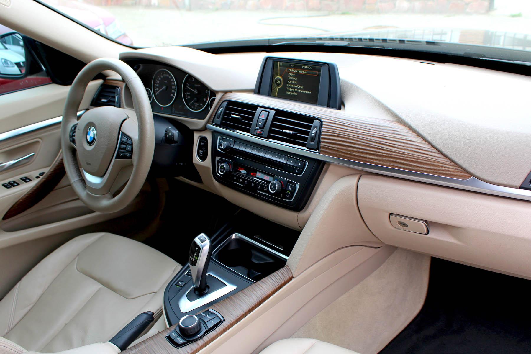 салон BMW 3GT