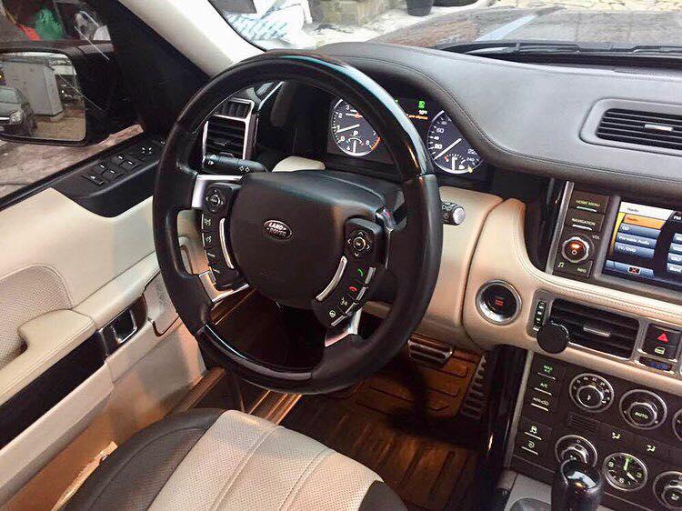 салон Range Rover